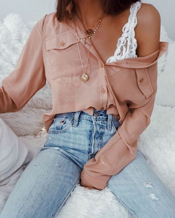 50 Pretty Girls Informal Outfits Concepts For Spring