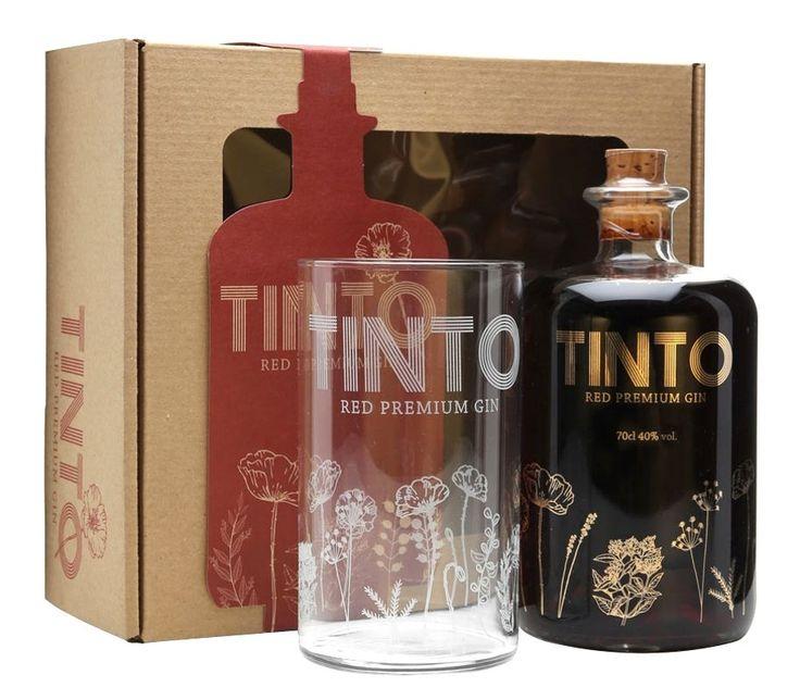 Tinto Red Premium Gin ● Tinto Red Premium Gin es una ginebra tridestilada portuguesa; la primera ginebra de color rojo en el mundo, coloración que toma de uno de sus principales ingredientes, la amapola. Una ginebra diferente, que tanto al olfato como al gusto responde como una ginebra de cierto dulzor, aroma limpio y un sabor que apasiona. Este set de regalo contiene un vaso de mezcla y recetario para crear tuscócteles.  - , #Amapola #Gin #GinTinto #GinebraRoja #Port