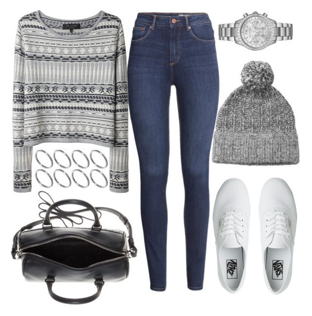 """""""Untitled #310"""" by foreverdreamt ❤ liked on Polyvore featuring H&M, rag & bone, ASOS, Vans, Yves Saint Laurent and Michael Kors"""