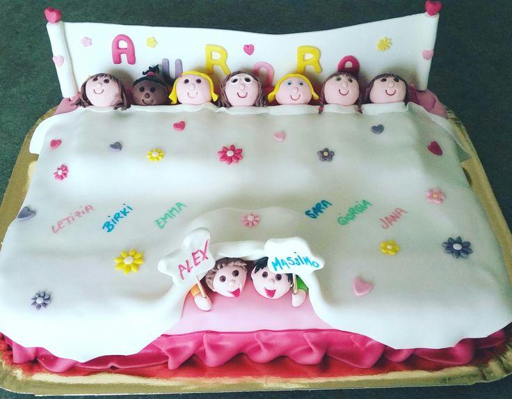 Torta pigiama party