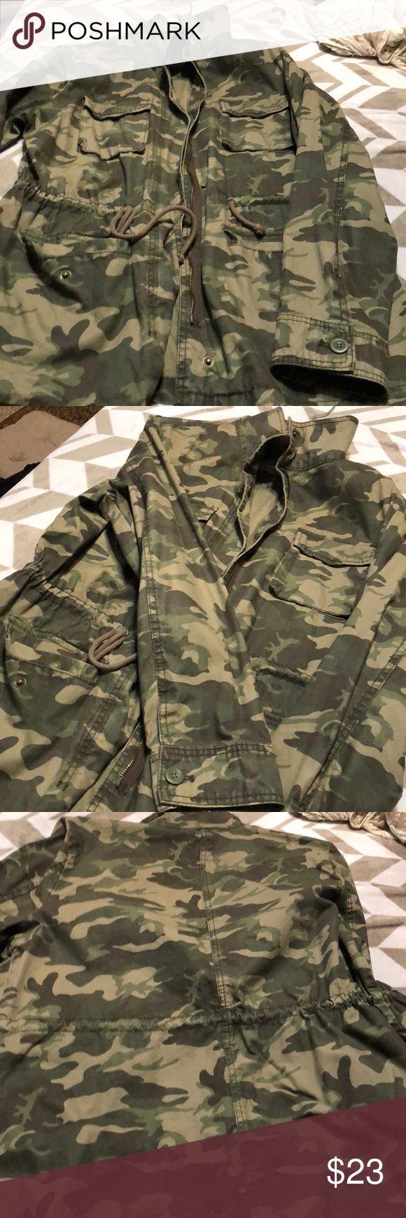 Army Fatigue Jacket Excellent condition. Only wore a few times. Old Navy Jackets & Coats Utility Jackets