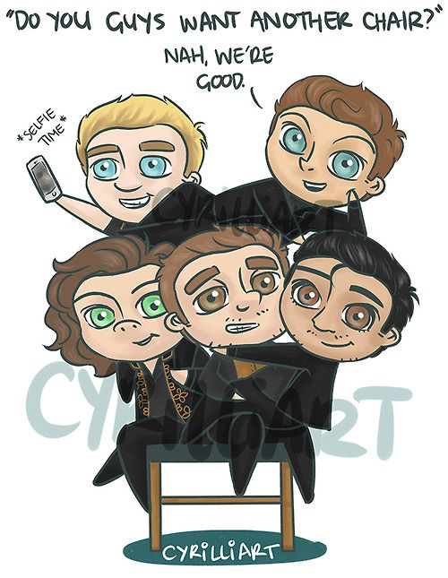 cyrilliart: one chair for one direction