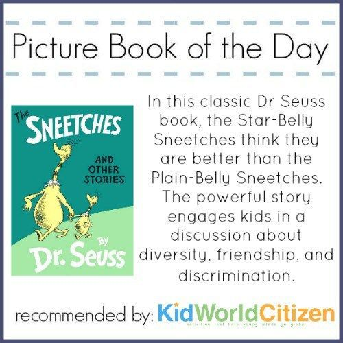 Fantastic lesson plan: The Sneetches Lesson against discrimination for kids to learn about the effects of racism.