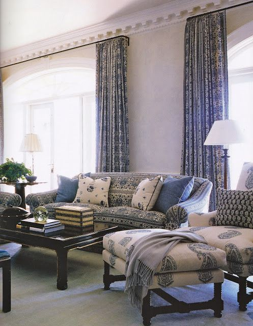Inspirational Sybaritic Spaces Blue and White Room Inspiration