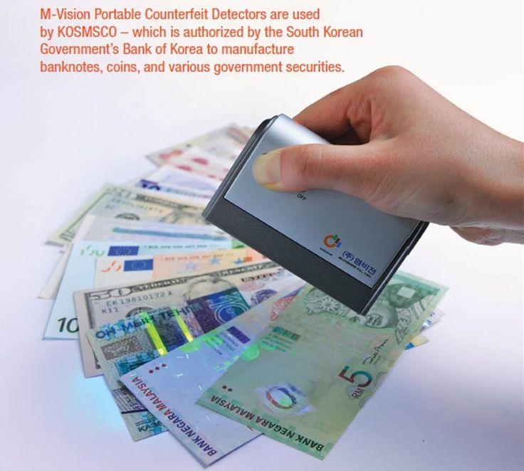UV LED Detector MP10t - Money detection