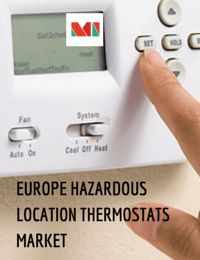 The Europe hazardous location thermostats market is estimated to be worth USD 0.170 billion in 2016 and is projected to grow at a CAGR of 7.13% during the forecast period to reach USD 0.240 billion by 2021.
