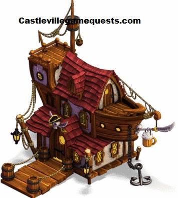 Castleville Game Sonja's Pirate Tavern Quests