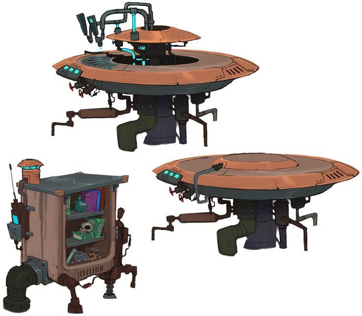 Chua Tables - Characters & Art - WildStar