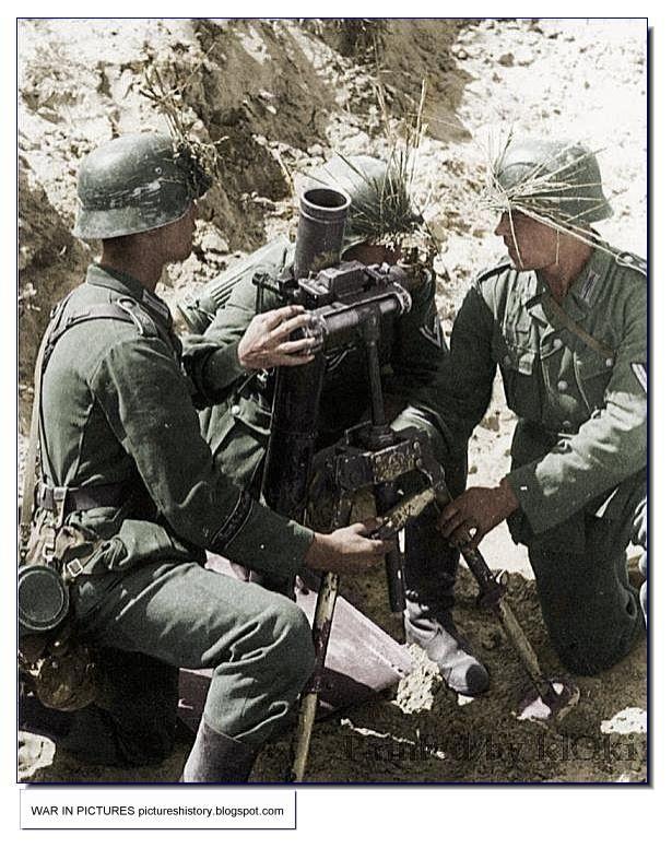 Image result for german 8cm mortar