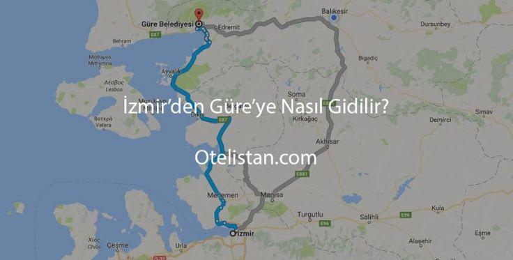İzmir'den Güre'ye Nasıl Gidilir?  Güre, Balıkesir ilinin Edremit ilçesine bağlı bir mahalledir. Edremit merkeze 12 km uzaklıktadır. Kaz dağlarında ki muhteşem yeşillik sayesinde Türkiye'nin hatta dünyanın en temiz hava sahası alanlarından biri olarak görülen Güre Türkiye' de özellikle kaplıcalarıyla meşhurdur.