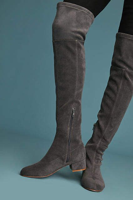 cb5fd7ece8c Anthropologie Suede Over-The-Knee Boots