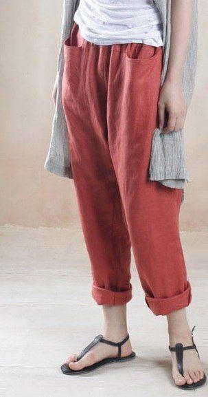 Свободные штаны и комбинезоны разных производителей. Под заказ. | 113 фотографий