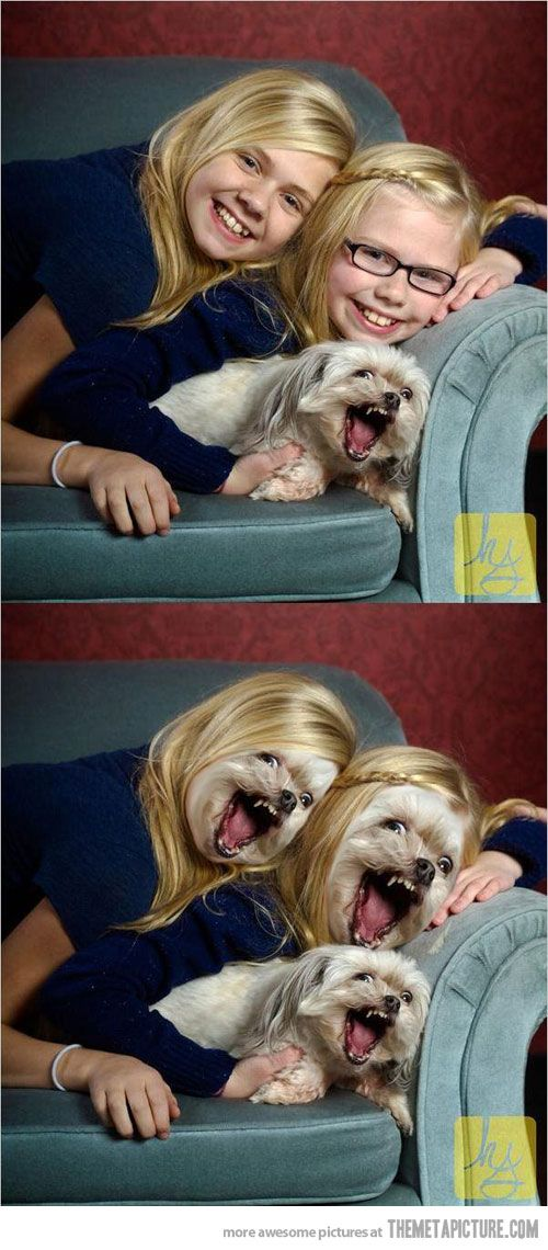 Face swap gone wrong…