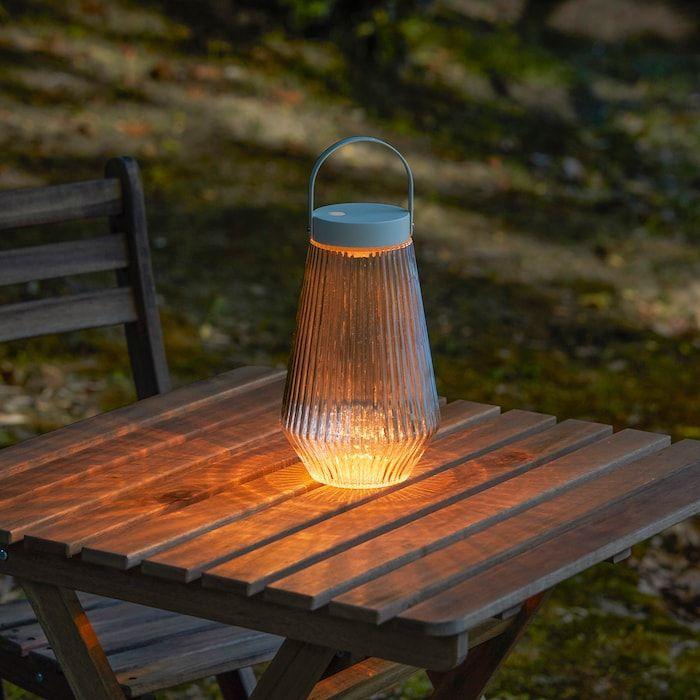 Solvinden Led Light Outdoor Battery Operated Clear Glass Ikea Gluhlampe Led Led Lampe