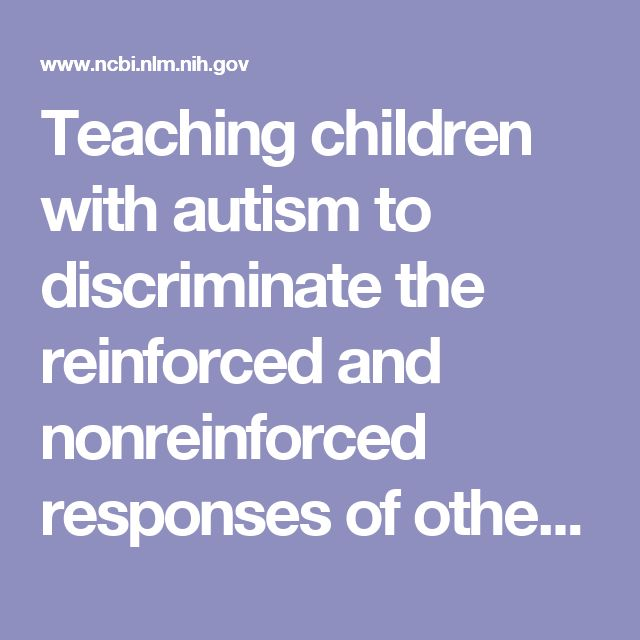 Teaching children with autism to discriminate the reinforced and nonreinforced responses of others: implications for observational learning.