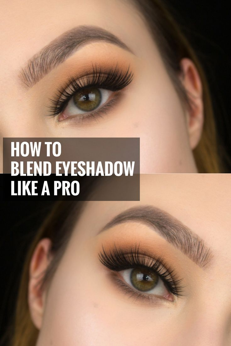 how to blend eyeshadow like a pro makeup artist   blending