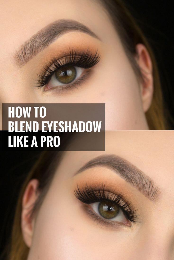 HOW TO BLEND EYESHADOW LIKE A PRO MAKEUP ARTIST , blending