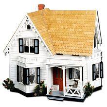 Westville Dollhouse: Wooden Dolls, Dolls Houses, Westvill Dollhouses, Dollhouses Kits, Inch Scale, Greenleaf Westvil, Westvil Dollhouses, Bays Window, Dollhouses Miniatures