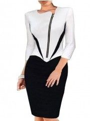 Buy Xxl Most-Viewed White Bodycon Dresses, Cheap Bodycon Dresses Online - Fashionmia.com