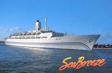 Dolphin Cruise Lineu0026#39;s Seabreeze Cruise Ship   U2693 Ships U0026 Boats U2693   Pinterest   Dolphins Cruise ...