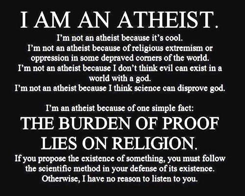 Why should Atheism be a national religion?