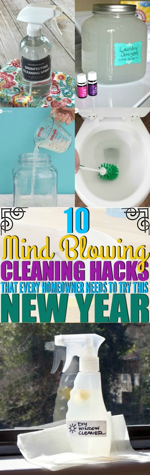 I've found the best ways to clean my home for the new year. You have to try these awesome cleaning hacks in your home!