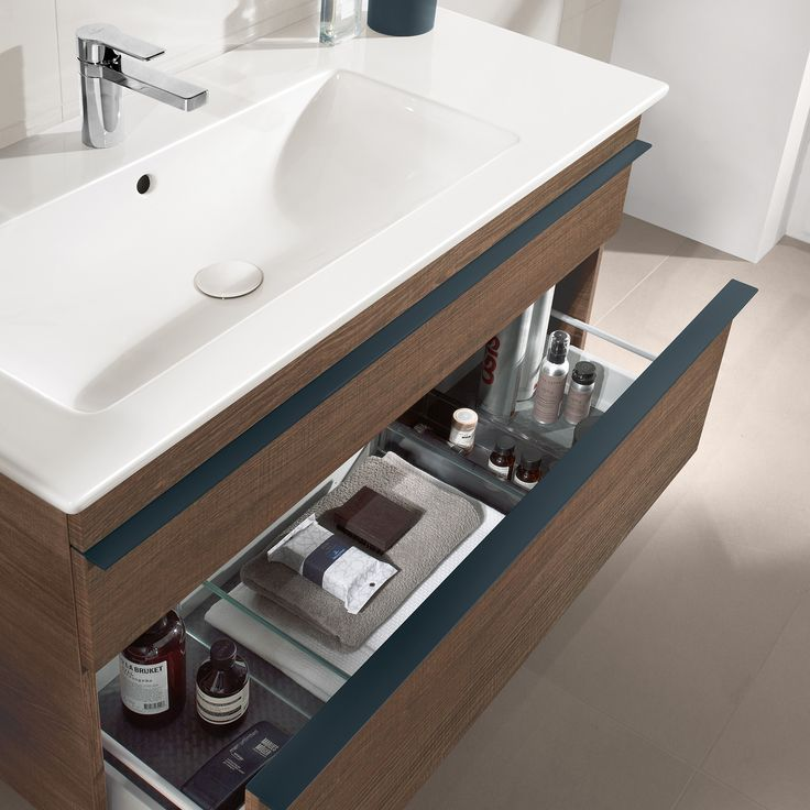 learn more on great villeroy boch bathroom furniture here we loved this under sink storage drawer with the teal accents - Bathroom Designs Villeroy And Boch