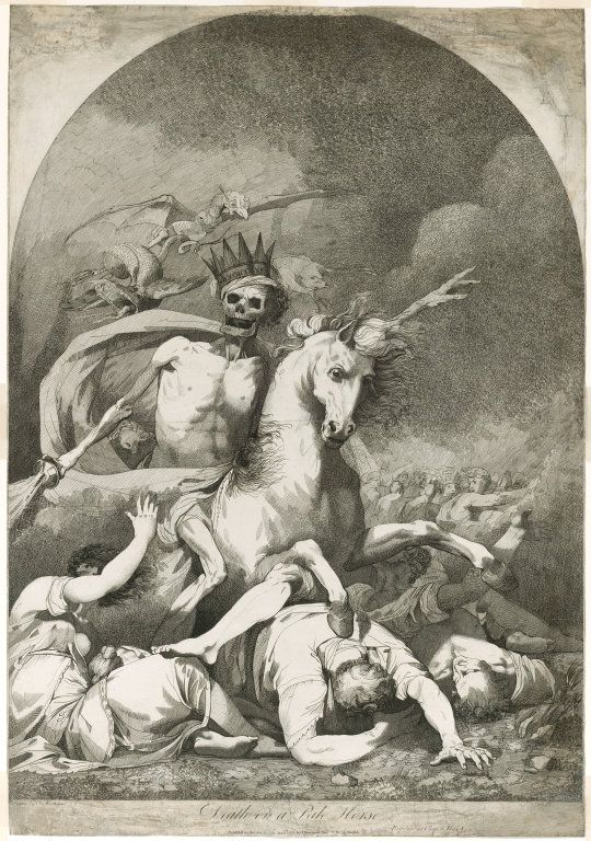 Death on a Pale Horse.Joseph Haynes, 1784.