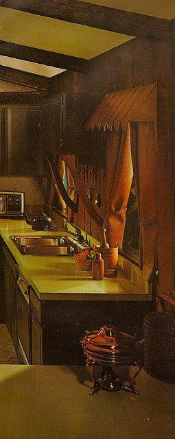 1970s Architectural Digest Kitchen | Flickr - Photo Sharing!