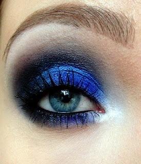 Electric blue black