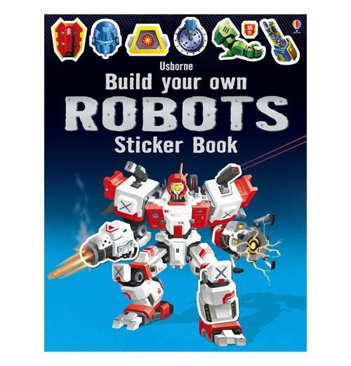 """Sticker Book """"Build Your Own Robot"""""""