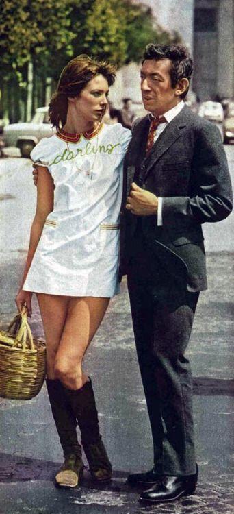 Jane Birkin and her Serge