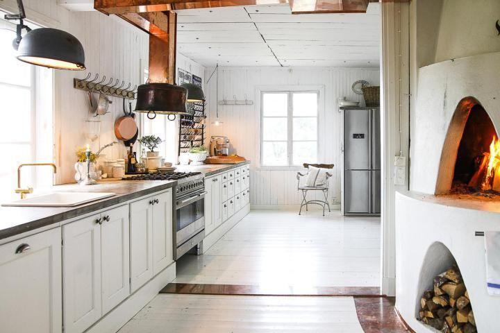 Post: Espectacular cocina de campo --> alacena estantería ...