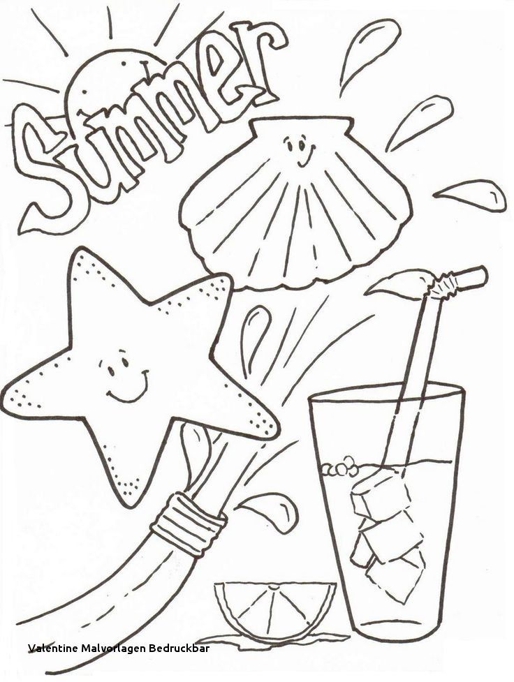 Valentine Blumen Blumen Valentine Summer Coloring Sheets Cool Coloring Pages Beach Coloring Pages