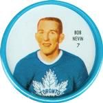 1962-63 Shirriff Coins #7 Bob Nevin Front