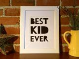 Wall Art Print Dream Best Kid Ever Quote  TradeMe New Zealand  SHE ACED IT LIMITED Trading as Golden Ace Works
