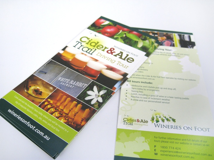 Wineries on Foot Postcards