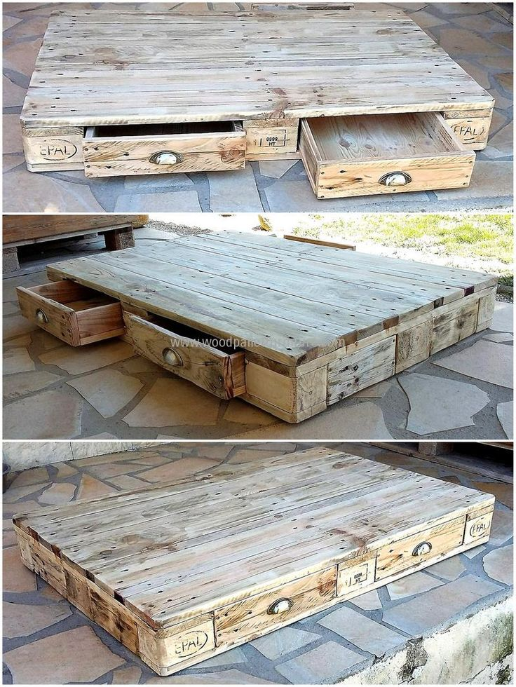 pallets table idea