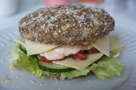 "CDJetteDC's LCHF: ""Grove"" burgerboller - LCHF"