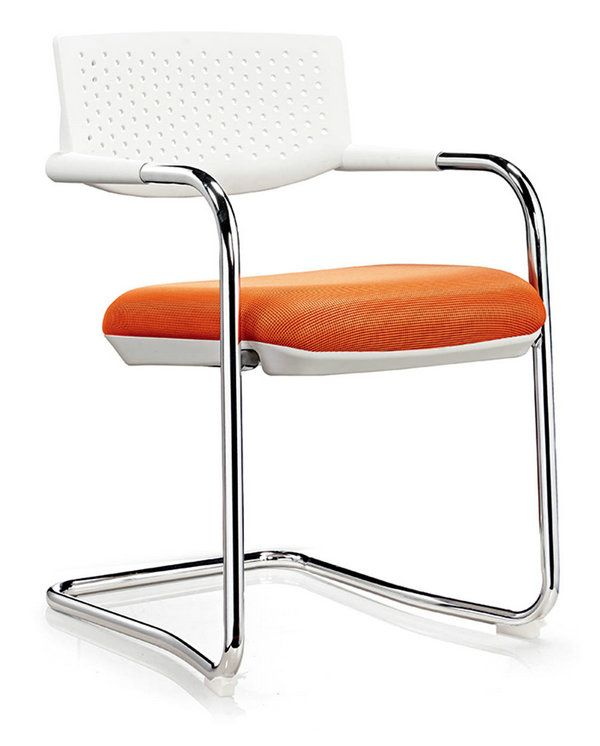 Office Furniture Modern Visitor Chair Without Casters Low Mesh