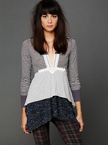 Layered Stripes Long Sleeve Top  http://www.freepeople.com/whats-new/layered-stripes-long-sleeve-top/People Layered, Fashion Clothing, Dresses Style, Free People Clothing, Stripes Long, Www Freepeople Co, Long Sleeve Tops, Long Sleeve Dresses, Layered Stripes