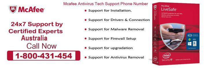 Get Online Assistance for #McAfee Antivirus Toll-free 1-800-431-454 #Australia