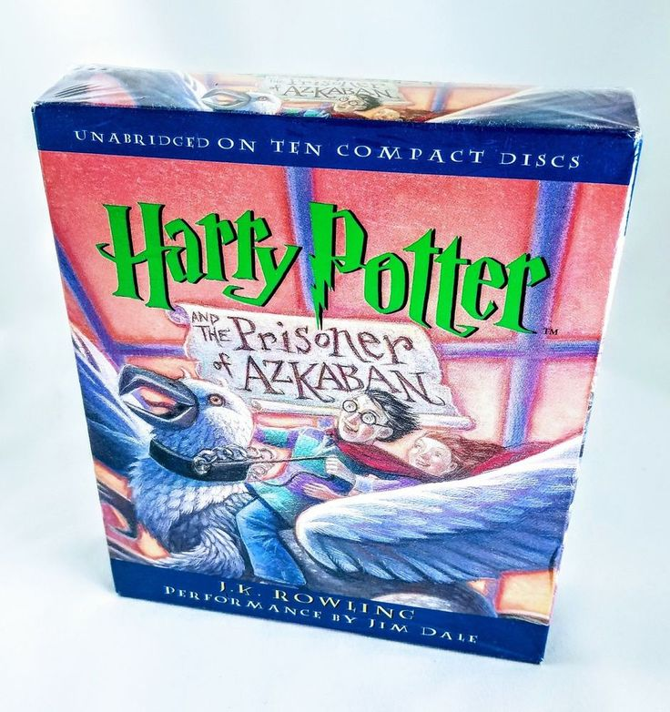 Brand New Harry Potter and the Prisoner of Azkaban (CD) Audio Book Audiobook