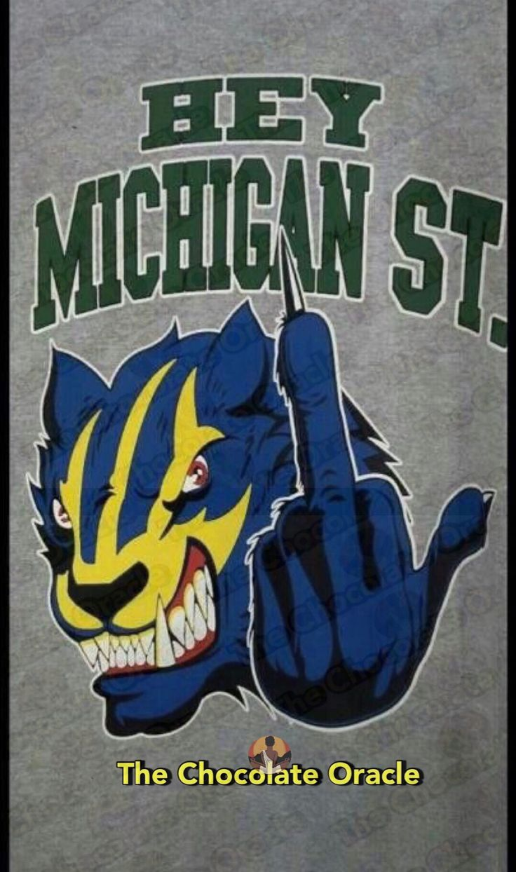 #Michigan #Wolverines #MichiganWolverines #Football #Rivalry #NCAA #CollegeFootball #Sports #TheChocolateOracle #MSU