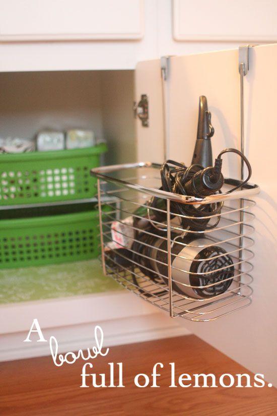 25 Best Ideas About Hair Dryer Storage On Pinterest