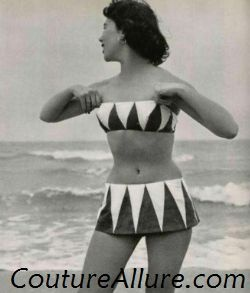 Vintage Swimsuits - 1950 | Couture Allure Vintage Fashion