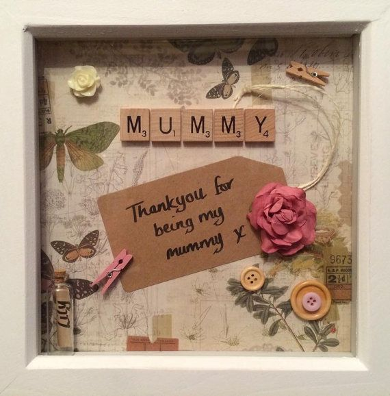 Medium scrabble frame personalised gift. by AllYouNeedIsLoveAM                                                                                                                                                                                 More
