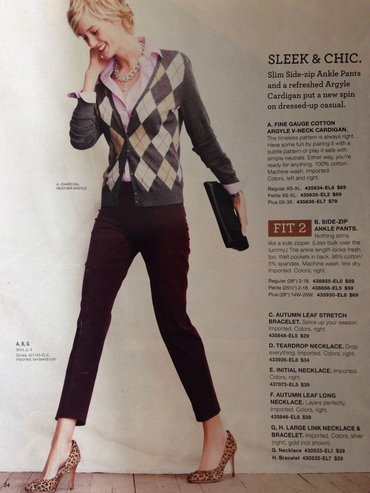 Old lands end catalog, love this outfit!!
