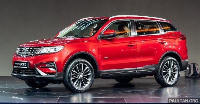 Proton X70 Launch Klcc Family Car Car Automotive
