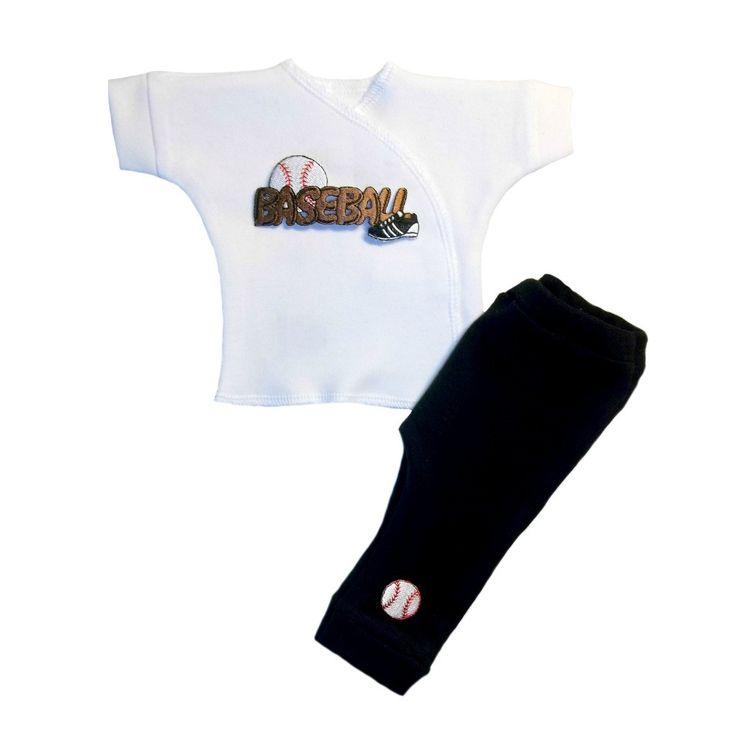 Baby Boys' Play Ball Baseball Clothing Set